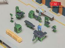 Faller 180455 Műhelyberendezés, ipari gépek, szerszámok (H0)