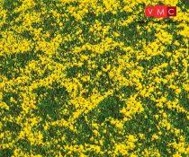 Faller 180463 Premium fűlap: Virágos rét, repceföld