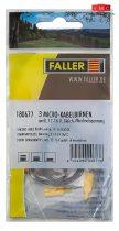 Faller 180677 Mikroizzó kábellel, fehér (3 db)