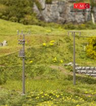 Faller 180928 Távvezetéktartó oszlop, 4 db (H0)