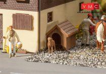Faller 180939 Kutyaház kutyával (H0)