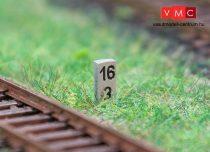 Faller 180952 Német vasúti szelvénykövek, 10 db (H0)