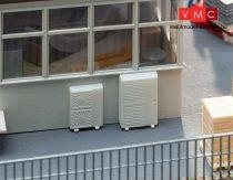 Faller 180976 Klímabrendezések, légkondicionálók, 13 db (H0)
