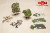 Faller 181104 PREMIUM lombos fa építőkészlet: nyírfa