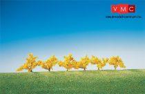 Faller 181475 Bokor (6 db), sárgán virágzó, 40 mm