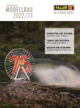 Faller 190909 Faller termékkatalógus 2021/2022, német nyelven (H0,N,Z)