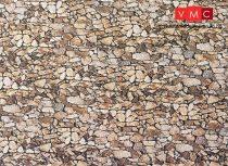 Faller 222562 Karton dekorlap, természetes kő