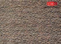 Faller 222566 Karton dekorlap, kőfal