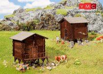 Faller 232368 Alpesi széna és terménytároló faházak (2 db)