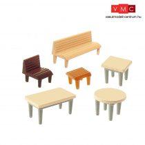 Faller 272440 Asztalok, székek, padok