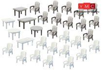 Faller 272441 Kertiszékek és asztalok