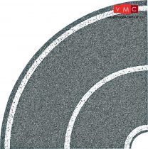 Faller 272459 Útfólia: Országút-kanyar 90° (4 db)