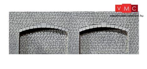 Faller 272594 Dekorlap, árkádos kváderkő támfal