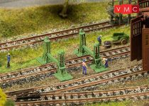 Faller 272909 Vasúti emelőbakok (4 db) járműjavítókhoz (N)