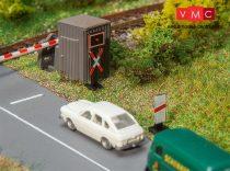 Faller 272913 Fénysorompó (német szabvány) és közlekedési táblák útátjáróhoz (N) -