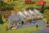 Faller 282788 Kertészet üvegházakkal (Z)