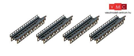 Faller 282901 Vasúti egyenes hídpálya készlet (4 db)