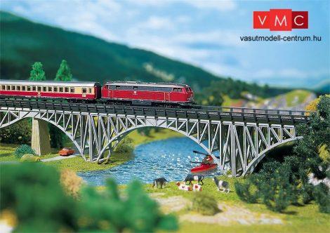 Faller 282915 Acélvázas vasúti völgyhíd, betonpillérrel, 220 mm