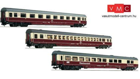 Fleischmann 481806 Személykocsi-készlet, 3-részes négytengelyes IC Riemenschneider I., DB (