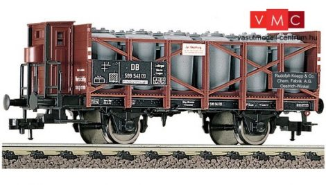 Fleischmann 522105 Savedényszállító teherkocsi fékházzal, Rudolf Koepp & Co., DB (E3)