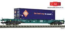 Fleischmann 524109 Konténerszállító négytengelyes teherkocsi, Sgns, 40 lábas konténerrel