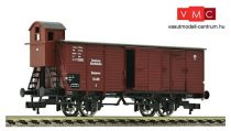 Fleischmann 536602 Fedett teherkocsi fékházzal, G02 Stettin, DRG (E2)
