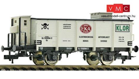 Fleischmann 544908 Gázszállító fedett teherkocsi, SJ, EKA, klór, fékházzal (E3)