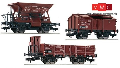 Fleischmann 550504 Teherkocsi-készlet, 3-részes, DRG (E2)