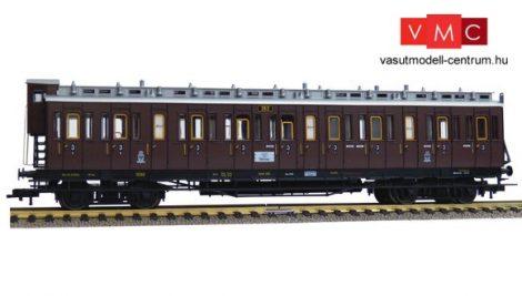 Fleischmann 568603 Oldalfellépős négytengelyes személykocsi fékházzal, CC, 3. osztály, K