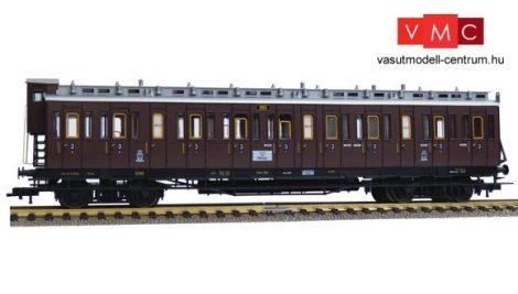 Fleischmann 568604 Oldalfellépős négytengelyes személykocsi fékházzal, CC, 3. osztály, K