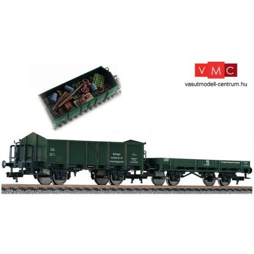 Fleischmann 591002 Pályafenntartási teherkocsi-pár szemétszállításhoz, DB (E4)