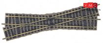 Fleischmann 6162 Keresztezés, 18°, 200 mm, balos - Fleischmann Profi