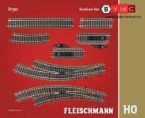 Fleischmann 6190 Sínkészlet B, állomási kiegészítés - Fleischmann Profi