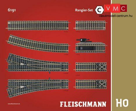 Fleischmann 6191 Sínkészlet C, rendezővágányok kiegészítés - Fleischmann Profi