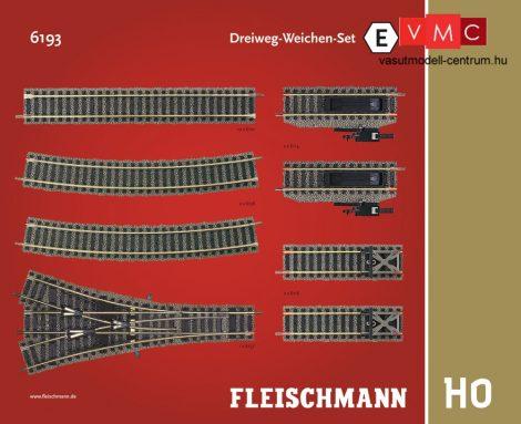 Fleischmann 6193 Sínkészlet E, hármasváltó kiegészítés - Fleischmann Profi