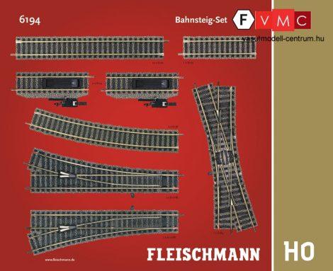 Fleischmann 6194 Sínkészlet F, állomási peronvágányok kiegészítés - Fleischmann Profi