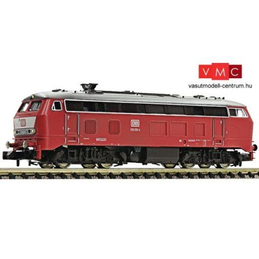 Fleischmann 724001 Dízelmozdony BR 218, orientvörös, DB (E4)