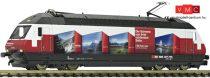 Fleischmann 731316 Villanymozdony Re 460 048-2, RailAway reklámfestéssel, SBB (E6)