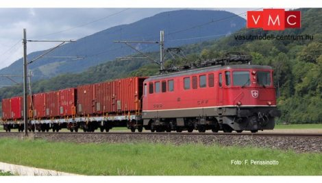 Fleischmann 737292 Villanymozdony Ae6/6 Städtelok, piros, SBB (E4) - Sound