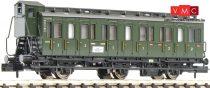 Fleischmann 806501 Oldalfellépős háromtengelyes személykocsi fékházzal, 1./2. osztály, D