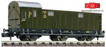 Fleischmann 806804 Oldalfellépős háromtengelyes poggyászkocsi, DRG (E2) (N)