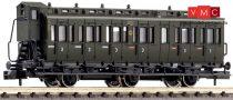 Fleischmann 807005 Oldalfellépős háromtengelyes személykocsi fékházzal, DRG (E2) (N)