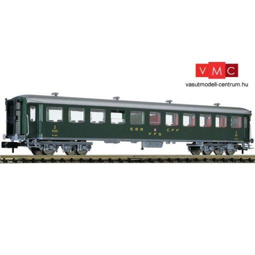 Fleischmann 813906 Személykocsi, négytengelyes B, 2. osztály, SBB (E3)