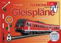 Fleischmann 81399 Fleischmann N ágyazatos sínrendszerhez pályatervek - német nyelven