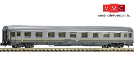 Fleischmann 814451 Személykocsi, négytengelyes gyorsvonati Eurofima, 1.osztály, FS, szürke