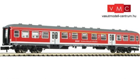 Fleischmann 814708 Személykocsi, négytengelyes ABn417, 1./2. osztály, Südostbayernbahn, DB-
