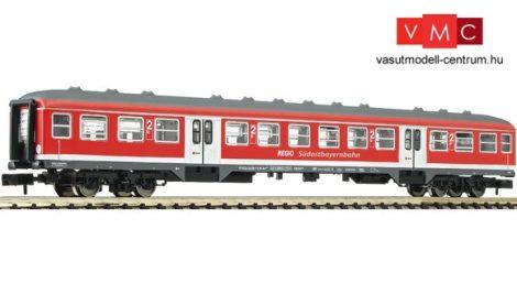 Fleischmann 814802 Személykocsi, négytengelyes Bnrz451, 2. osztály, Südostbayernbahn, DB-AG