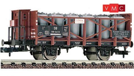 Fleischmann 822104 Savedényszállító teherkocsi fékházzal, Rudolf Koepp & Co., DB (E3)