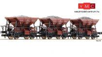 Fleischmann 822705 Kőszállító önürítős teherkocsi készlet, 3-részes Talbot, DB (E3) (
