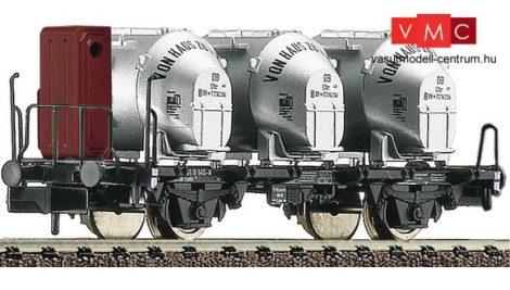 Fleischmann 823701 Behältertragwagen Bauart Bt10 mit Bremserhaus und Efkr Behältern, DB